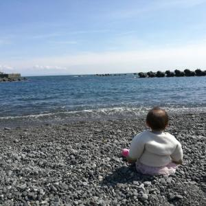 【子育て】用宗海岸が気持ち良い!