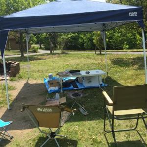 久しぶりにソロじゃないBBQを友人と3人で楽しんで来た!やっと陽の目を見たキャンプ道具達!