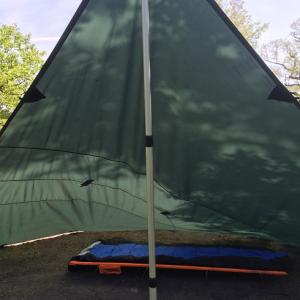 DODのコット、ワイドキャンピングベッドをキャンプで愛用してきて!