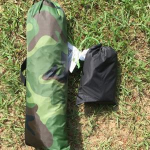 バイクでのキャンプツーリング用のテントを買ったので試し張り!
