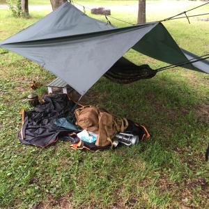 金曜日の夜の仕事終わりにソロキャンプに行って来ました!