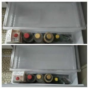冷蔵庫の掃除をしました!