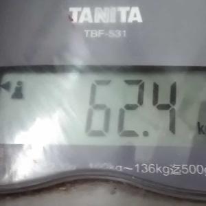 体重/220/10/18と、とうとう言ってしまった。