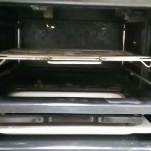 掃除・オーブンの下BEFORE/AFTER