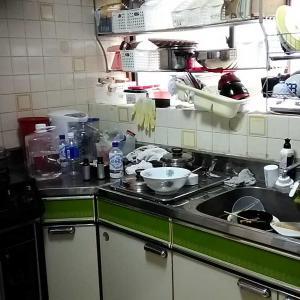掃除・キッチンBEFOREですが~