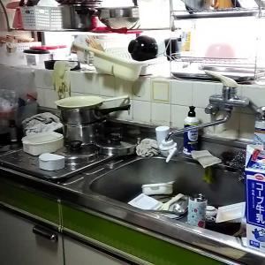 掃除・キッチンBEFOREとソフトクリーム