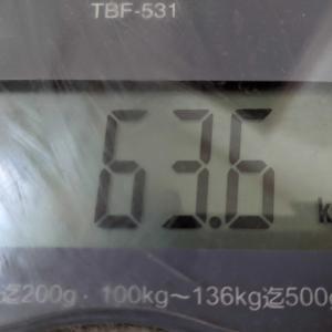 体重昨日より減少😅と掃除🧹