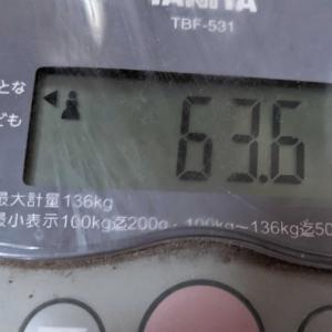 体重/2021/7/13とワクチン接種後お嫁ちゃんとの会話