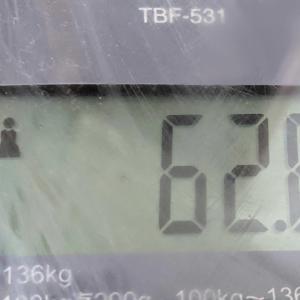 体重/2021/7/14減りました!!