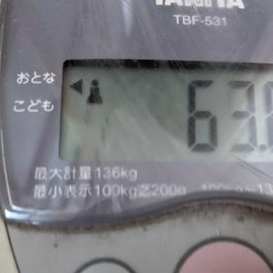体重2021/7/15また戻った(´;ω;`)