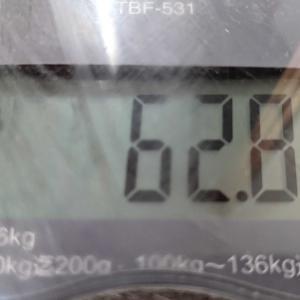 変化なし体重(-ω-;)ウーン