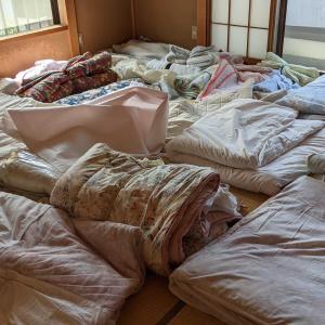 掃除・実家寝室&洋間のBEFORE