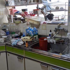 掃除・キッチンbefore
