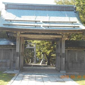 根室金刀比羅神社の佐重門