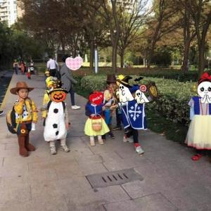 幼稚園ハロウイン(上海)
