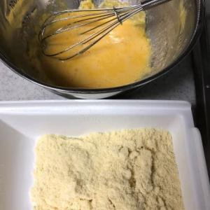 高野豆腐のチヂミ