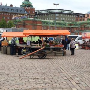 ヘルシンキに到着
