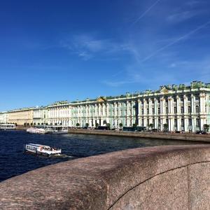 サンクトペテルブルクへ
