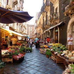 カターニアの市場