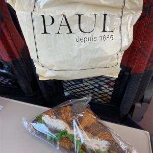 新潟旅行|新幹線で食べたPaulのパン