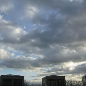 雲多いがそれほど悪くない天気