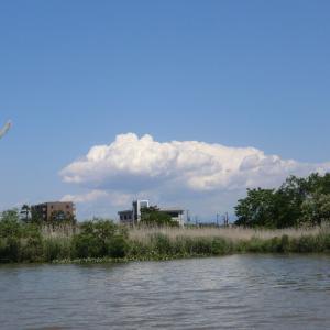 レンズ状の高積雲