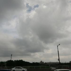 前線やや南下で天気回復傾向