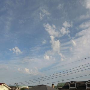 乱れた雲底