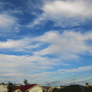 雲多いながら晴れ
