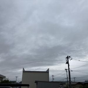 雲厚く朝夕は雨