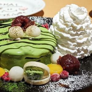 エッグスンシングス京都四条店限定の抹茶パンケーキはどこが違う?