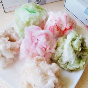 zarame京都タワーサンド店の綿菓子をお土産に!軽い&カワイイから重宝するよ