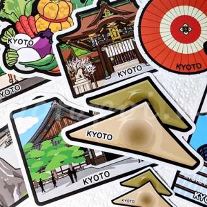 京都のご当地フォルムカードをプチプラ土産に!自分用の旅行記念にも♪