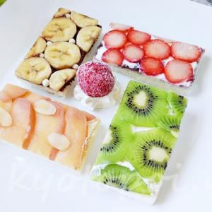 フルーツパンダのオープンサンドがウマ可愛い!京都タワーサンドで買えるよ
