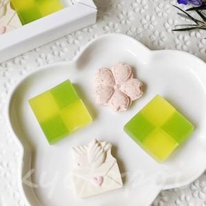 俵屋吉富といろの美しすぎる干菓子「華の色」「月の色」!京都伊勢丹限定