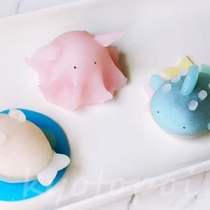 キュートな海洋生物の生八ツ橋!ニキニキ季節の生菓子【2020年8月】