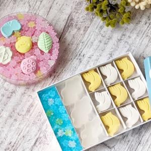 UCHU WAGASHI(ウチュウワガシ)春限定のキュートな干菓子【追記情報】