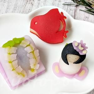 端午の節句&藤&カキツバタ!ニキニキ季節の生菓子【2021年5月】