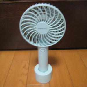 francfrancのハンディ扇風機