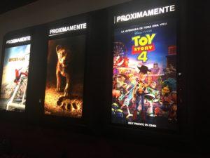 メキシコの映画館で初めて