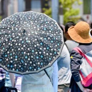 雨傘を日傘の代わりにすることはできる?