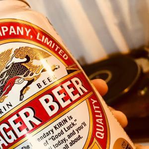 ビール飲みながら吉田拓郎を聴く♪