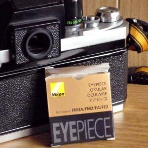 Nikon F用のアイピース