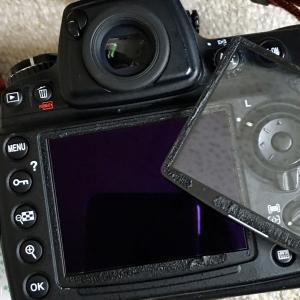 Nikon D700液晶モニター曇り修理