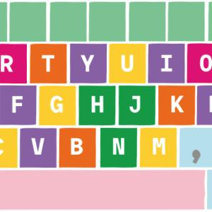 5歳娘の初タイピング(キーボードで文字を打つ)!by ルビィのぼうけん こんにちは!プログラミング