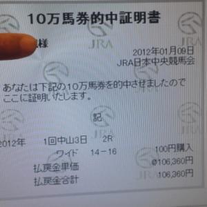 令和元年10月12日(土)パインフィールドJRA全24レース軸馬穴馬ピックアップ