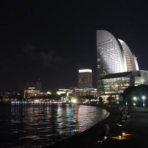 横浜・みなとみらい地区の夜景(その2)