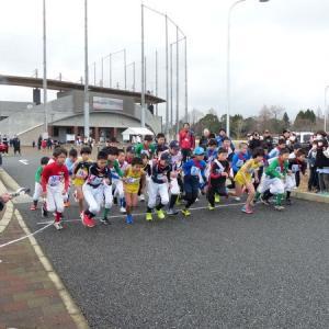 第34回スポーツ少年団駅伝交流大会が行われました