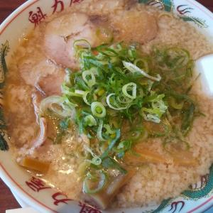 京都北白川 魁力屋 多摩ニュータウン通り店で焼きめし定食をコク旨ラーメンで実食レビュー!背油多めで麺固めが美味い!