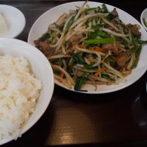 南京亭国立店でランチに 広東麺 ニラとレバーの炒め 餃子 を実食!ぎょうざは鉄板のうまさで広東麺のとろみがかった豚バラが最高!